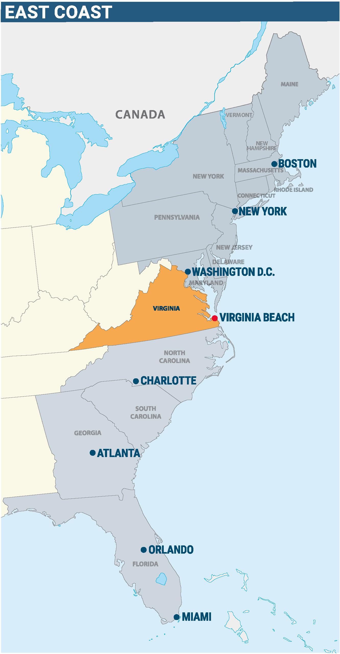 New VB Location Map