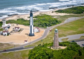 Aerial View of Lighthouses